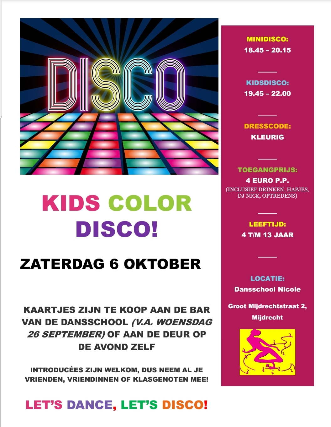 KIDS COLOR DISCO!